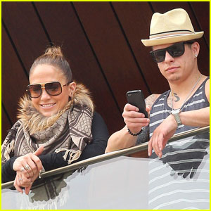 Jennifer Lopez &#038; Casper Smart: Ready for Rio!