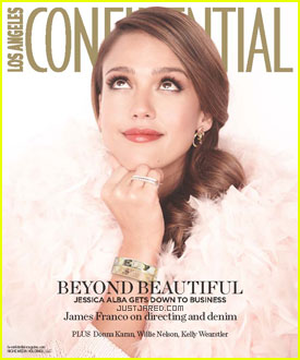 Jessica Alba Covers 'Los Angeles Confidential'