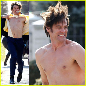 Jim Carrey: Shirtless '30 Rock' Cameo in Queens!
