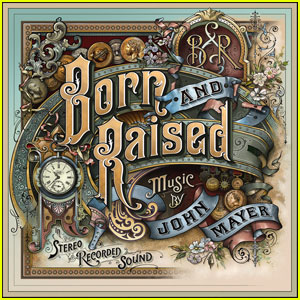 John Mayer: 'Born & Raised' Cover Art Revealed!