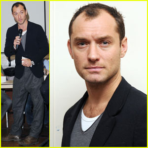 Jude Law: Peace One Day's Global Truce Launch!