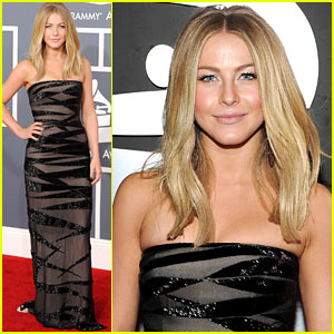 Julianne Hough - Grammys 2012 Red Carpet