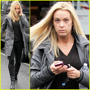 Kate Gosselin goes makeup free to the tanning salon on Friday