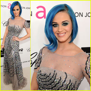 Katy Perry - Elton John Oscar Party