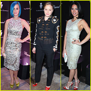 Katy Perry & Olivia Munn: Weinstein Pre-Oscar Party!