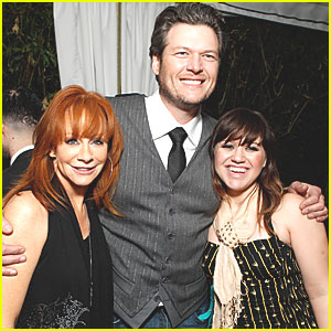 Kelly Clarkson: Grammys After Party with Blake Shelton!