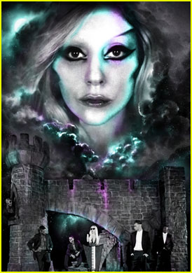 Lady Gaga: 'Born This Way Ball' Tour Poster!
