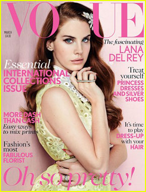 Lana Del Rey Covers 'British Vogue' March 2012
