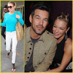 LeAnn Rimes & Eddie Cibrian: Back from Sin City!