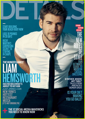 Liam Hemsworth Covers 'Details' March 2012