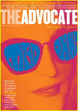 Madonna Covers 'The Advocate'