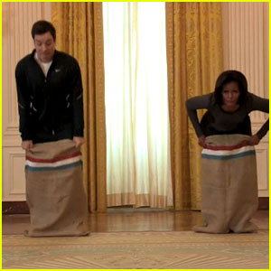Michelle Obama: Let's Move With Jimmy Fallon!