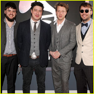 Mumford & Sons - Grammys 2012 Red Carpet