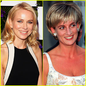 Naomi Watts Playing Princess Diana in 'Ca
