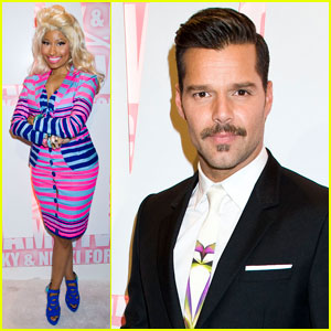 Nicki Minaj & Ricky Martin: MAC Viva Glam Party!