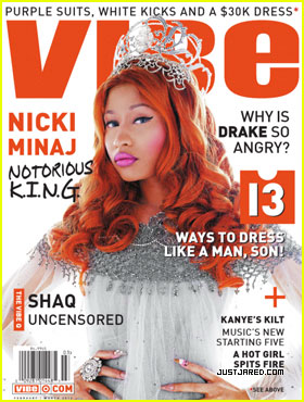 Nicki Minaj Covers 'Vibe' February/March 2012