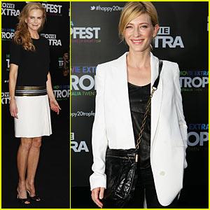 Nicole Kidman: Tropfest with Cate Blanchett!