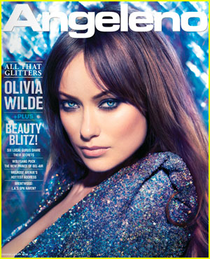 Olivia Wilde Covers 'Angeleno' February 2012