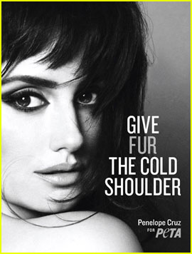 Penelope Cruz: PETA Anti-Fur Ad!