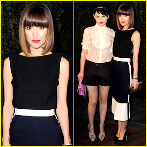 Rose Byrne & Ginnifer Goodwin: Chanel Pre-Oscar Party!