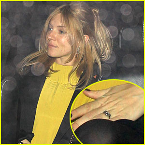 Sienna Miller: Engagement Ring Pics!