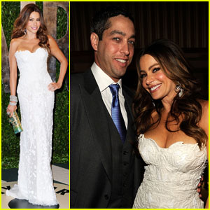 Sofia Vergara: Vanity Fair Oscar Party With Nick Loeb!
