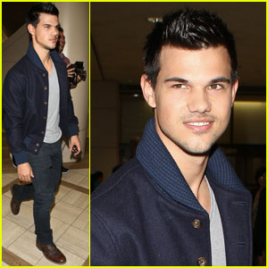 Taylor Lautner: Fallon, Here I Come!