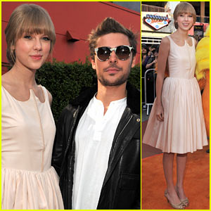 Zac Efron &#038; Taylor Swift: 'Lorax' Premiere Pair!