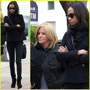 Zoe Saldana: Movies with Bradley Cooper's Mom!