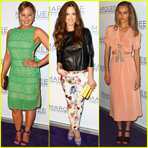 Abbie Cornish: Marquee Sydney with Minka Kelly!