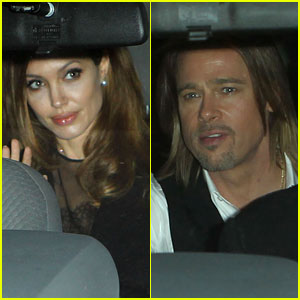 Angelina Jolie Makes it to New Orleans!