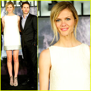 Brooklyn Decker &#038; Taylor Kitsch: 'Battleship' in Madrid!