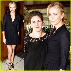 Charlize Theron Steps Out After Adoption Announcement