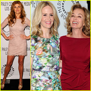 Connie Britton & Jessica Lange: 'American Horror Story' at PaleyFest!