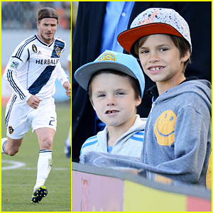 David Beckham: First L.A. Galaxy Win of the Season!