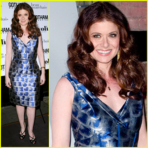 Debra Messing: Gotham Cover Party!