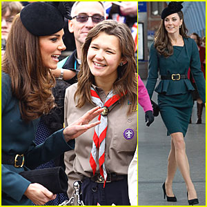 Duchess Kate & Queen Elizabeth: London to Leicester!