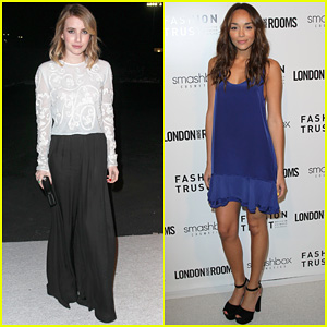 Emma Roberts & Ashley Madekwe: London Show Rooms L.A. Party!