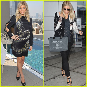 Fergie: Press Day in NY!