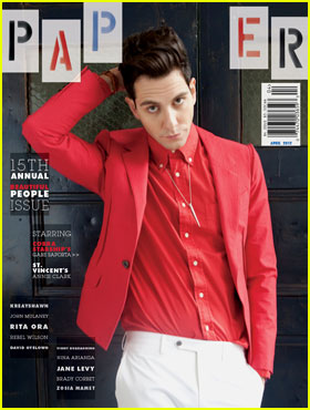 Gabe Saporta Covers 'Paper' Beautiful People Issue