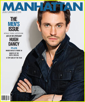 Hugh Dancy Covers 'Manhattan' Magazine