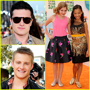 'Hunger Games' Cast - Kids' Choice Awards 2012