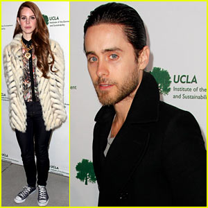 Lana Del Rey & Jared Leto: UCLA Sustainability Fundraiser!