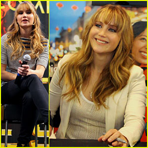 Jennifer Lawrence Wraps the 'Hunger Games' Mall Tour!