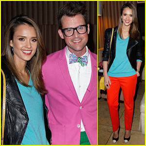 Jessica Alba Celebrates Brad Goreski's Book Launch!