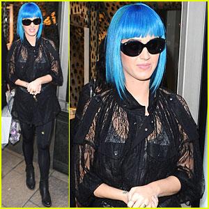 Katy Perry: London to Paris on Eurostar!