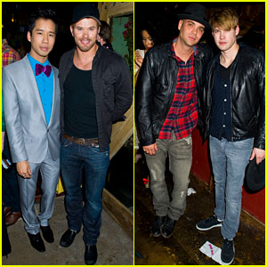 Kellan Lutz & Chord Overstreet: Just Jared's 30th Birthday Bash!