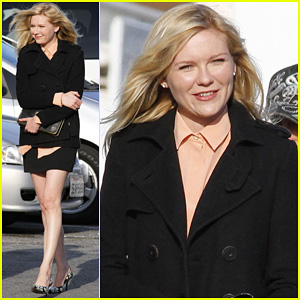 Kirsten Dunst: Joyful Day on 'Bling Ring'!