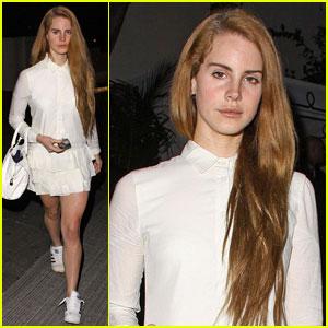 Lana Del Rey Inspires Dsquared2 Runway Show Look