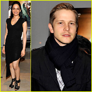 Matt Czuchry: 'Intouchables' Premiere with Archie Panjabi
